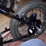 Half a motorcycle