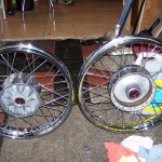 Wheels laced and trued by Bill Worthington